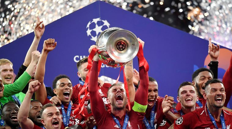 Liverpool beat Tottenham Hotspur 2-0 to secure sixth European crown