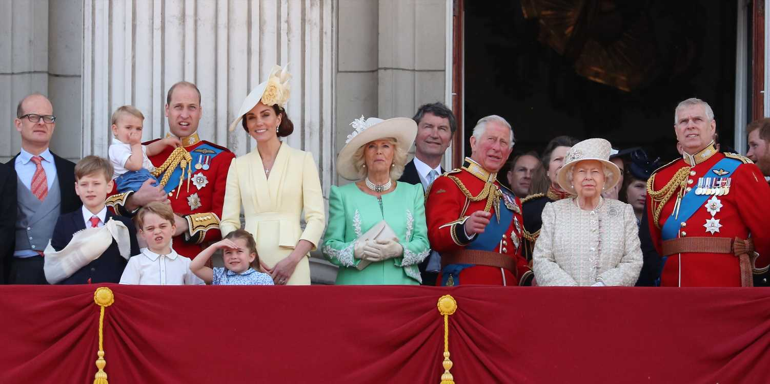 Every Royal Family Member on the Buckingham Palace Balcony for Trooping the Colour 2019