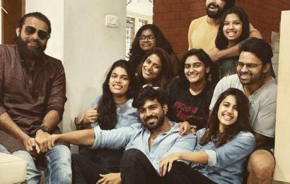 Ram Charan with Siblings