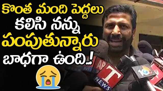 TV9 Ex CEO Ravi Prakash Emotional Words