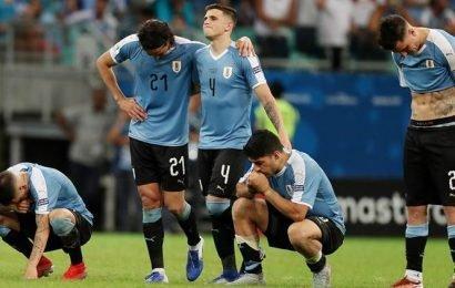 Copa America: Luis Suarez devastated as shootout miss sees Uruguay crash out