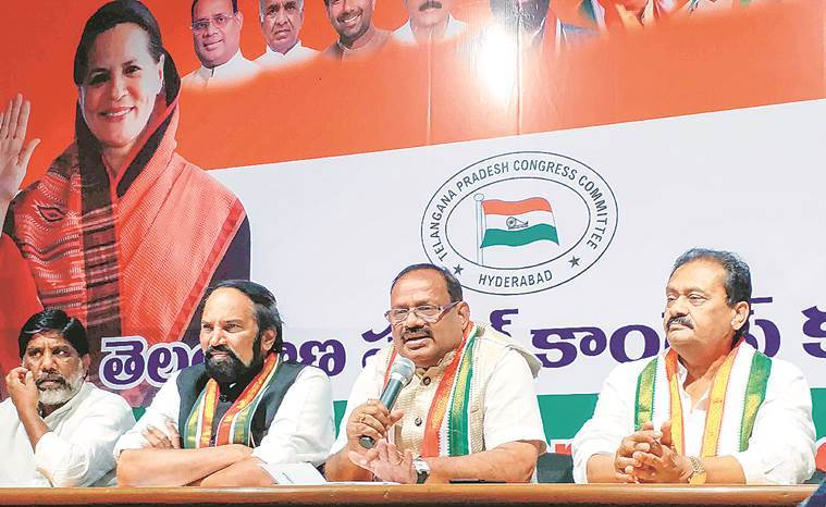 Telangana: 12 Congress MLAs who switched to TRS haven't resigned yet