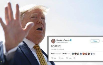 Donald Trump on Democratic debate: 'BORING'