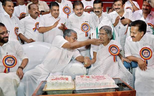 K.R. Gouri is part of State's modern history, says Pinarayi