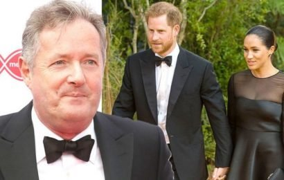 Piers Morgan Twitter: Star blasts Prince Harry and Meghan Markle after children bombshell