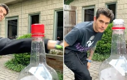 I Did a Triple Take Watching John Mayer Nail the Internet's New Bottle Cap Challenge
