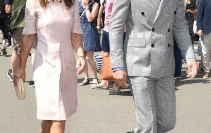 Pippa Middleton and brother James Middleton attend Wimbledon together: Pics!