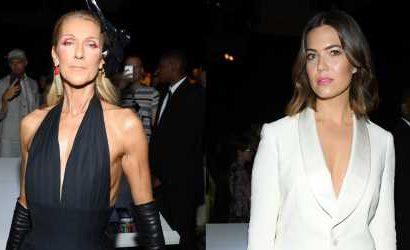 Celine Dion & Mandy Moore Do Double Duty at Paris Fashion Week