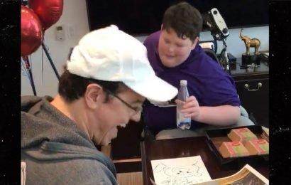Seth MacFarlane Grants Young Disabled 'Family Guy' Fan's Wish