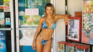 Sofia Richie Stuns In Sexy, Tie-Dye Bikinis For Fun Summer Line