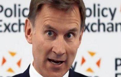 British PM hopeful Jeremy Hunt unveils no-deal Brexit plans