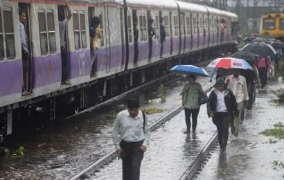 Tale of two sets of passengers on a rainy night