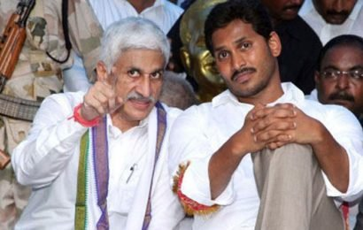Jagan Removes Vijay Sai Reddy From Key Post