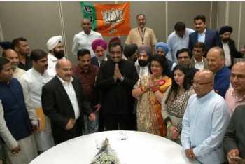 TANA 2019: NRI Telugus Slogans Against Modi & BJP