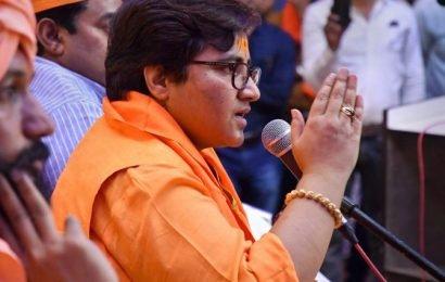 Didn't become MP to clean drains, toilets: Pragya Thakur