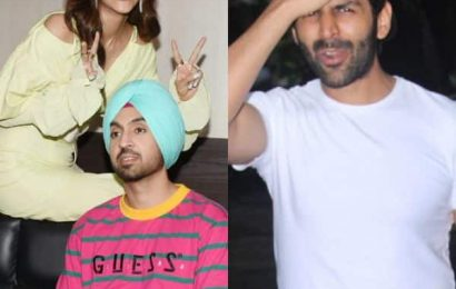 Kartik Aaryan, Kriti Sanon-Diljit Dosanjh will crack you up with these AWKWARD pictures | Bollywood Life