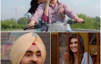 Diljit Dosanjh-Kriti Sanon's chemistry in Arjun Patiala song will make you say this is #SachiyanMohabbatan | Bollywood Life