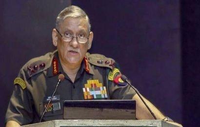 Uri, Balakot showed India's political resolve: Gen. Rawat
