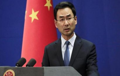 China says U.S. responsible for Iran's decision to expand uranium enrichment