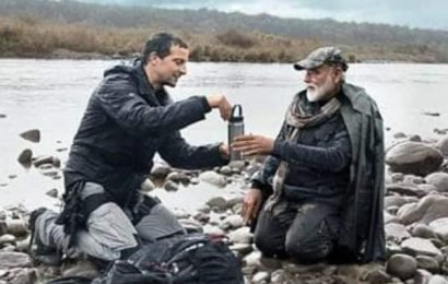 PM Narendra Modi to feature in Bear Grylls' 'Man vs Wild' | Bollywood Life