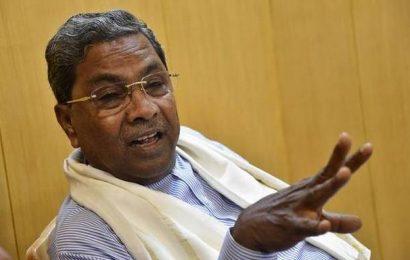 Siddaramaiah criticises A.H. Vishwanath for remarks against Karnataka coalition