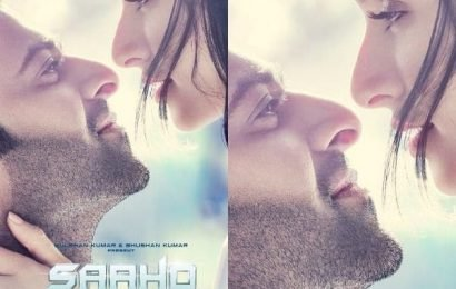 Saaho new poster: Prabhas and Shraddha Kapoor's romantic eye-lock is making our wait harder | Bollywood Life