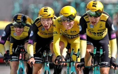 Tour de France: Jumbo-Visna wins time trial
