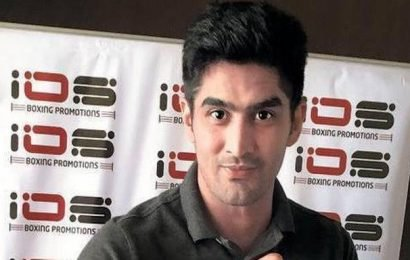 Vijender Singh looks forward to his first pro fight in the US