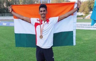 Sreeshankar produces season's best