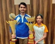 National sub-junior (U-15) chess: Rithvik and Divya triumph