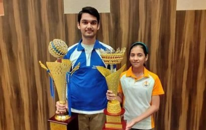 National sub-junior (U-15) chess: Rithvik and Divya triumph