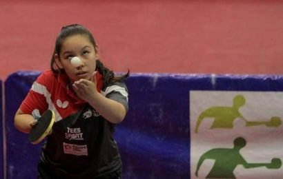 The world of a table tennis sensation