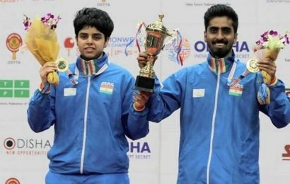Commonwealth table tennis | Golden moment for Sathiyan-Archana