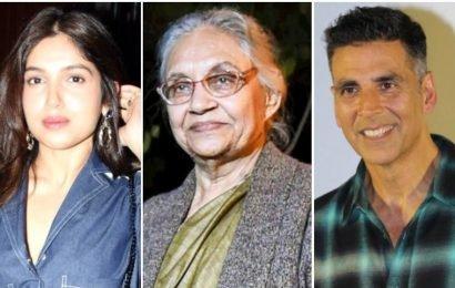 Akshay Kumar, Mika lead Bollywood in condoling death of former Delhi CM Sheila Dikshit