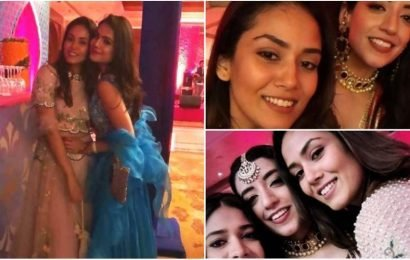 Mira Rajput stuns in lehenga at friend's wedding. Check out her pics