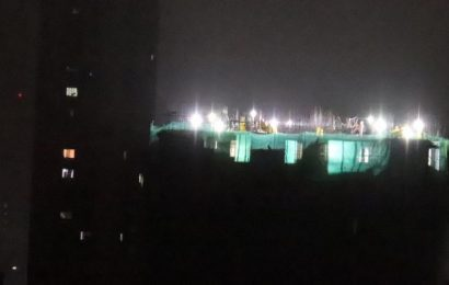 BMC sends a light pollution notice to South Mumbai construction site