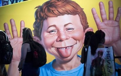 MAD Magazine may fold up, but Alfred E. Neuman will always have the last hurrah