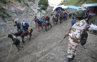 Amarnath yatra suspended till August 4