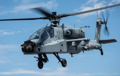 Boost to IAF as US delivers first batch of 4 Apache attack choppers