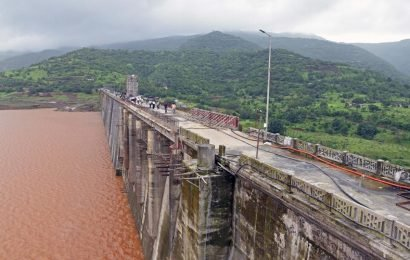 Temghar dam in Pune is 'live' again – 90 % of water leakages plugged