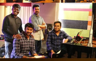 Bigil: Vijay turns singer for AR Rahman song Verithanam