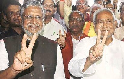 Sushil Modi dismisses reports of strain, says Bihar polls will be fought under Nitish Kumar's leadership
