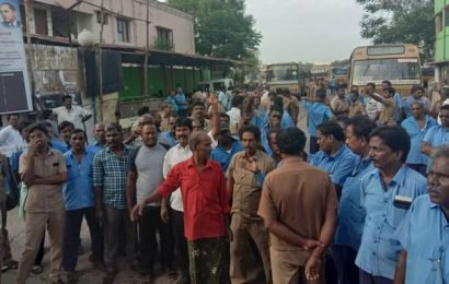 MTC workers go on flash strike in Chennai; commuters stranded in various parts of city
