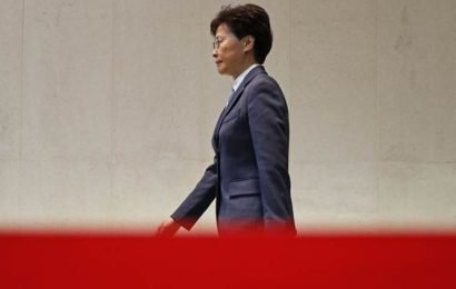 Beijing reiterates support for Hong Kong's Carrie Lam, police