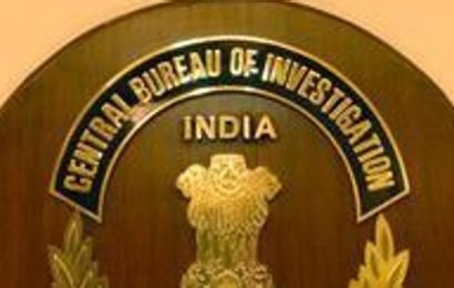 CBI books sacked I-T official for cheating, forgery