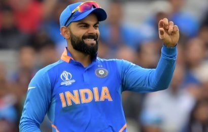 India vs New Zealand, semi-final World Cup 2019:Virat Kohli shows off dancing skills after Henry Nicholls dismissal -Watch