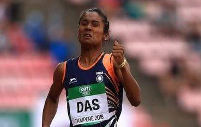 Hima Das wins second international gold inside a week