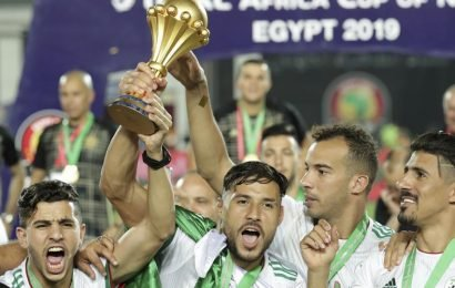 Algeria win Africa Cup of Nations with freak early goal in final against Senegal