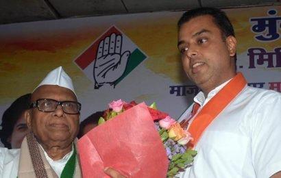 Eknath Gaikwad takes charge as working president of Mumbai Congress