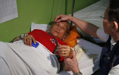 Former Philippine first lady's 90th birthday bash ruined as 261 hospitalised